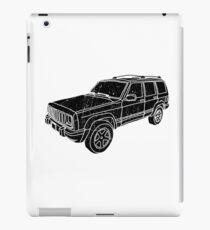 Jeep Cherokee - Black iPad Case/Skin