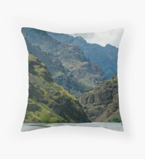 Hells Canyon Northbound. Throw Pillow