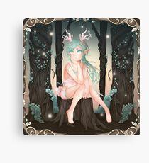 Reiko Forest Fauna - 2018 (Square) Canvas Print