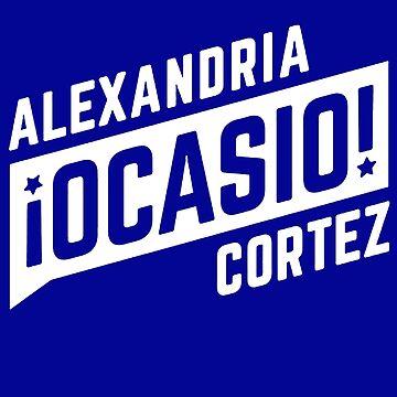 Alexandria Ocasio Cortez by coinho