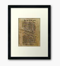 """""""The man in the arena"""" Theodore Roosevelt Framed Print"""