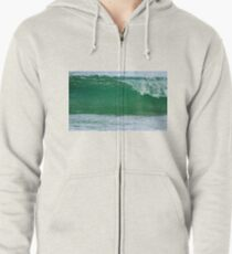 A Florida Gulf Coast Wave!! Zipped Hoodie