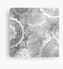 Awakening Dream Monocrome Metal Print