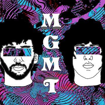 MGMT Digital Drawing (Oracular Spectacular) by ArtsyPrincess