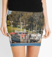 Jetty on Bluewater Drive, Narooma Mini Skirt