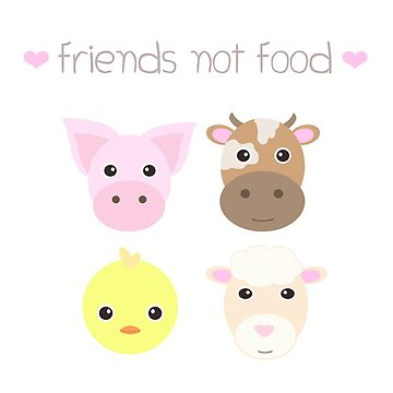 Friends not food by geteez