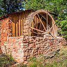 Old Water Wheel Building at Cathedral Rock by eegibson