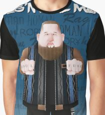 86d764e6fb Rag'N'Bone Man caricature Graphic T-Shirt