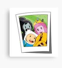 Adventure Time Photo Canvas Print