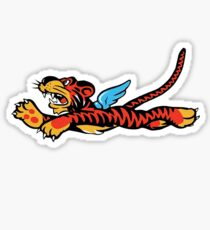 Flying Tigers Emblem Sticker