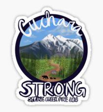Cuchara Strong Stickers Sticker