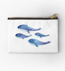 Whale Family Studio Pouch
