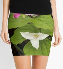 A Variable Flower Mini Skirt