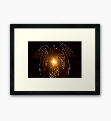 The Healing Spirit Framed Print