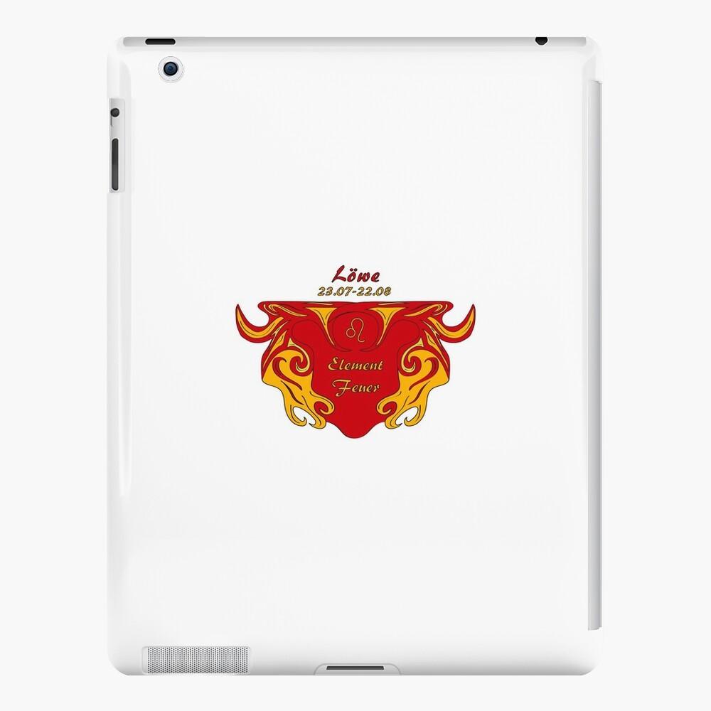 Sternzeichen Löwe iPad-Hüllen & Klebefolien