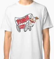 Pioneer Chicken Tshirt Pioneer Take Out Shirt Defunct Fast Food Chain Shirt - White Version Classic T-Shirt