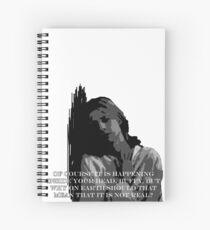 Normal again ft. Dumbledore Spiral Notebook