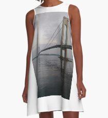 Pattern, design, tracery, weave, decoration, motif, marking, ornament, ornamentation A-Line Dress