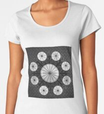 Ellis Island Chandelier in the Registry Hall Women's Premium T-Shirt