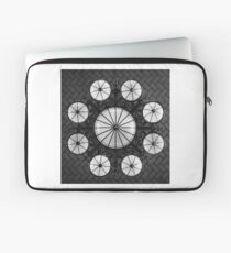 Ellis Island Chandelier in the Registry Hall Laptop Sleeve
