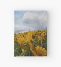 Sunflower Garden Hardcover Journal