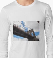 Brooklyn Bridge from DUMBO Long Sleeve T-Shirt