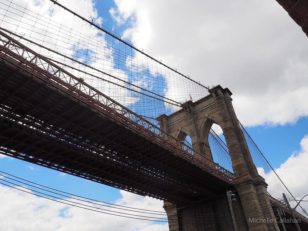 Brooklyn Bridge from DUMBO by Michelle Callahan