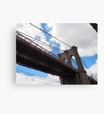 Brooklyn Bridge from DUMBO Canvas Print