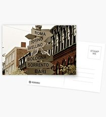North End Arrows Postcards