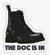 The Doc Is In Sticker