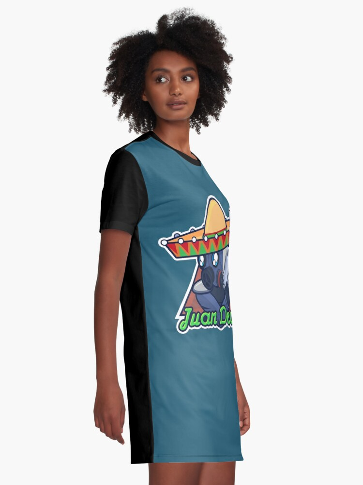 Vista alternativa de Vestido camiseta Juan Deag - Contraterrorista
