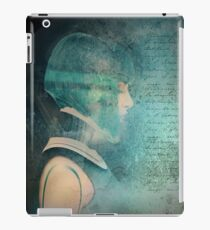 in silence we walk iPad Case/Skin