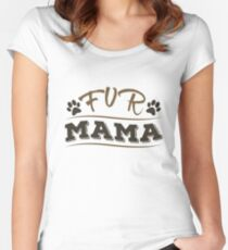 For mum Women's Fitted Scoop T-Shirt