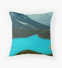 Moraine Lake Banff Icefields Parkway Throw Pillow