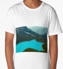 Moraine Lake Banff Icefields Parkway Long T-Shirt