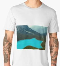 Moraine Lake Banff Icefields Parkway Men's Premium T-Shirt