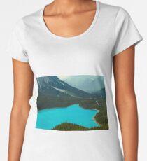 Moraine Lake Banff Icefields Parkway Women's Premium T-Shirt