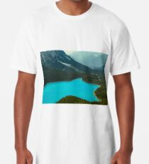Moraine Lake Banff Icefields Parkway Long T-Shirt