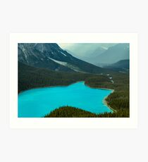 Moraine Lake Banff Icefields Parkway Art Print