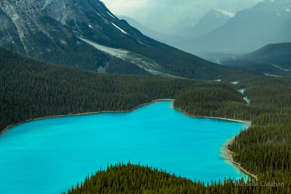 Moraine Lake Banff Icefields Parkway by Michelle Callahan