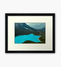 Moraine Lake Banff Icefields Parkway Framed Print