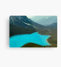 Moraine Lake Banff Icefields Parkway Metal Print