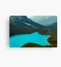 Moraine Lake Banff Icefields Parkway Canvas Print