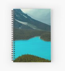 Moraine Lake Banff Icefields Parkway Spiral Notebook