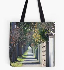 pathway to the burbs Tote Bag