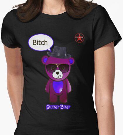 Geek Girl - SwearBear - Bitch T-Shirt