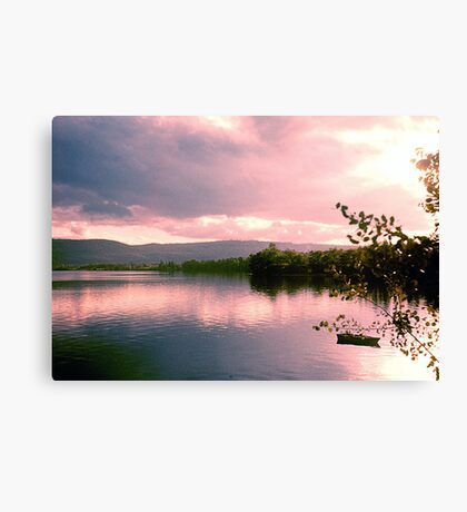 Lake Clear Morning Canvas Print