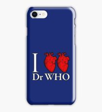 I Heart Heart Dr Who iPhone Case/Skin