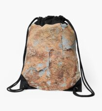 Shale rock surface texture Drawstring Bag