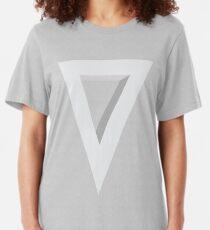 Triangulate Slim Fit T-Shirt